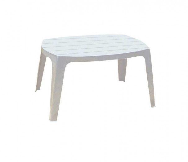 Table basse d'appoint Tavolo en plastique blanc - 100% polypropylène
