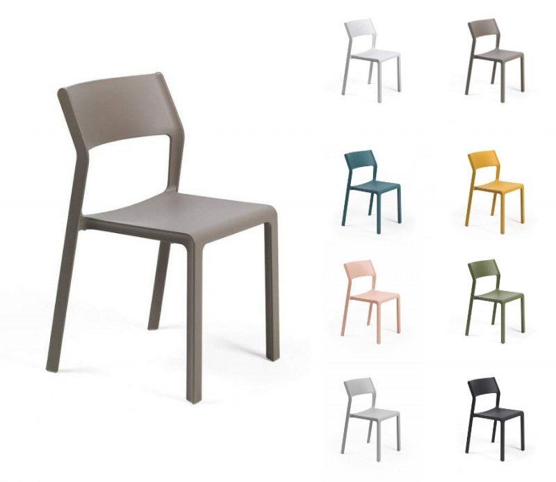 Chaise TRILL résistante intérieur et extérieur polypropylène Nardi
