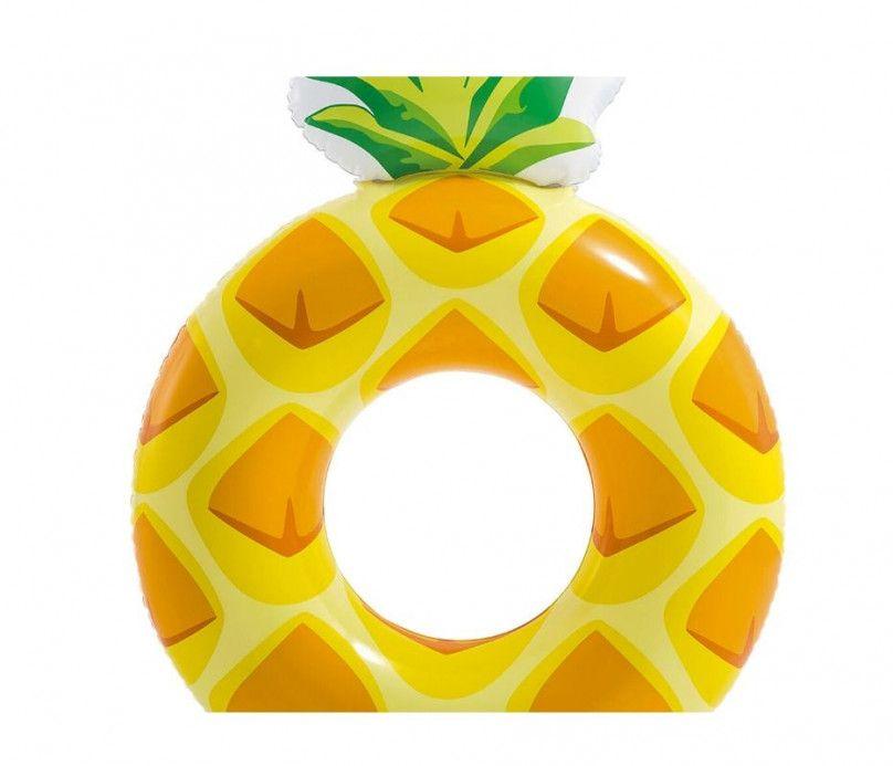 Grande bouée ananas - diamètre 117 cm