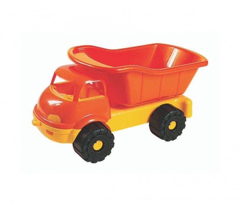 Gros camion jouet de plage ou de jardin vide - 35 cm