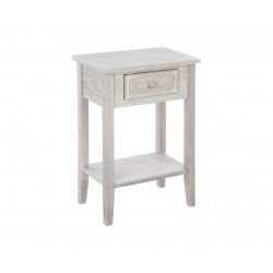 Table de chevet charme 1 tiroir bois 45x30xh67 cm