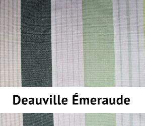 Nappe enduite deauville - Imperméable et anti-tâches - Existe en 4 dimensions - Émeraude