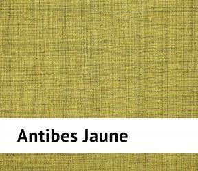 Galette de chaise extérieure imperméable Antibes jaune - 40x40 cm - Existe aussi en Aqua