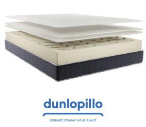 le matelas Dunopillo premier prix et de qualité Le Positif