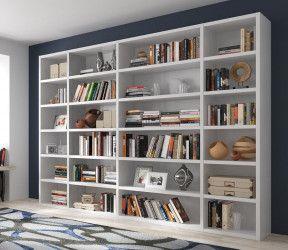 grande bibliothèque solide tout étagères pour livres