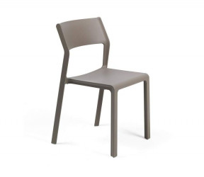 Chaise résistante intérieure-extérieure Trill taupe polypropylène Nardi