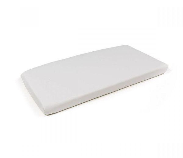 coussin de banc de jardin ou d'appoint Net acrylique lavable   blanc Nardi