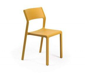 Chaise résistante intérieure-extérieure Trill moutarde polypropylène Nardi