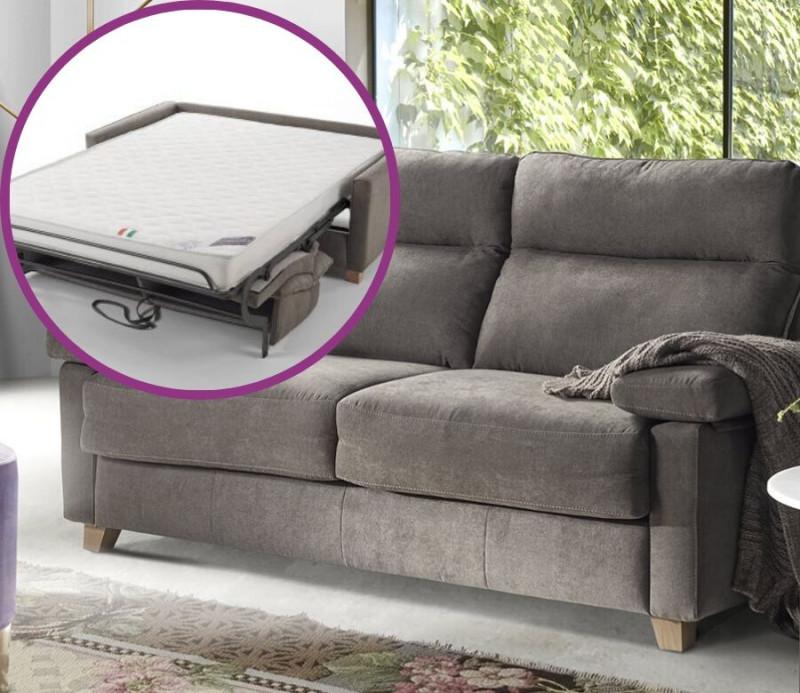 canapé-lit italien totalement personnalisable BOGART Confort par Vitarelax à essayer chez Mareco Sarzeau