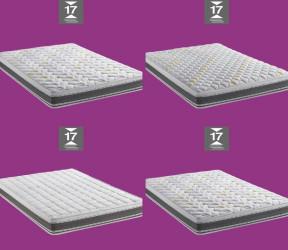 canapé-lit italien pour couchage quotidien avec matelas épais 17 cm