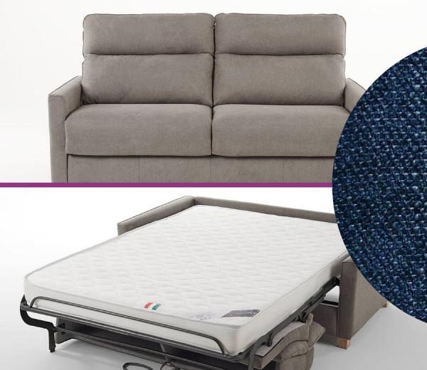 canapé-lit italien BLEU MARINE BOGART Confort par Vitarelax à essayer chez Mareco Sarzeau