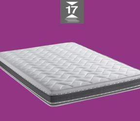 canapé-lit italien pour couchage quotidien avec matelas épais 17 cm haute resilience 35 kg