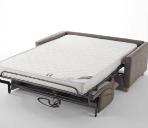 canapé-lit italien  ouverture facile et rapide sans enlever les coussins