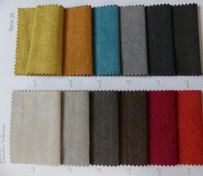 Coloris ESCORPIO choisissez votre couleur pur votre canapé ou votre fauteuil