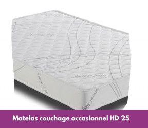 Matelas canapé-lit couchage occasionnel confortable
